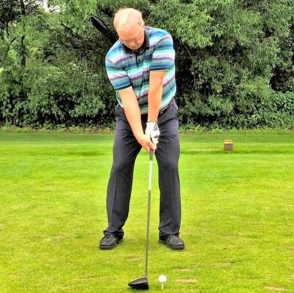 Golf Video, Kameraposition frontal