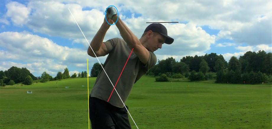 Golf Training Video Analyse